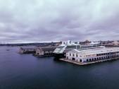 El puerto de La Habana en construcción
